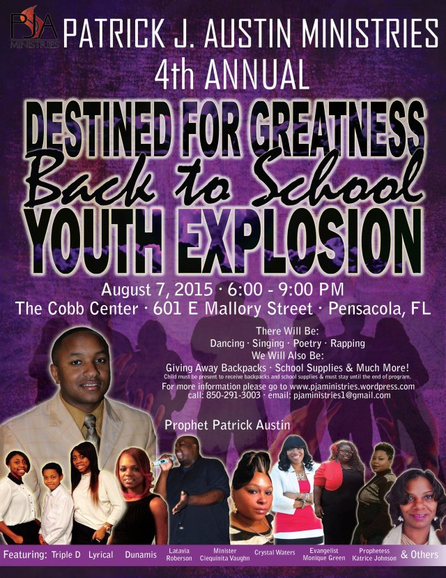 Destined 4 Greatness flyer